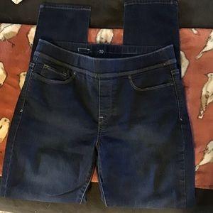 Levi's Jeans - Dark Blue Levi's Stretchy Denim Skinny Jeans